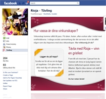 rioja facebook app - Carismar Software