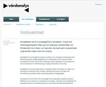 Vårdanalys - Carismar Software