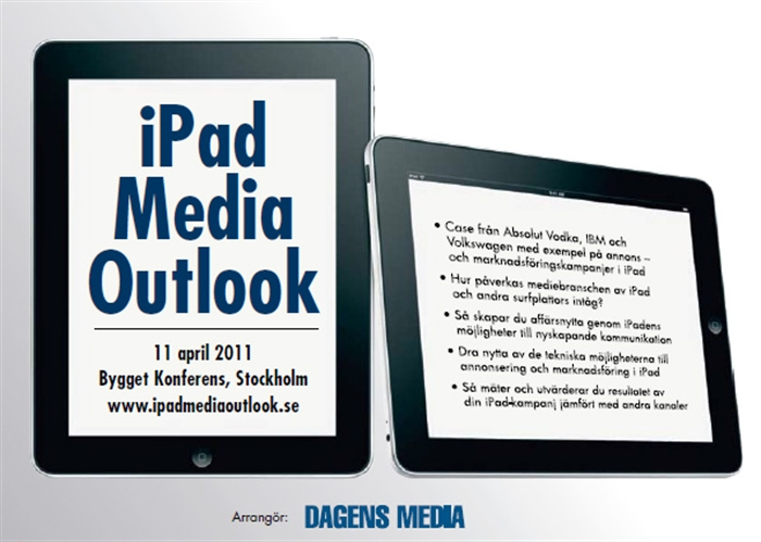 iPad Media Outlook